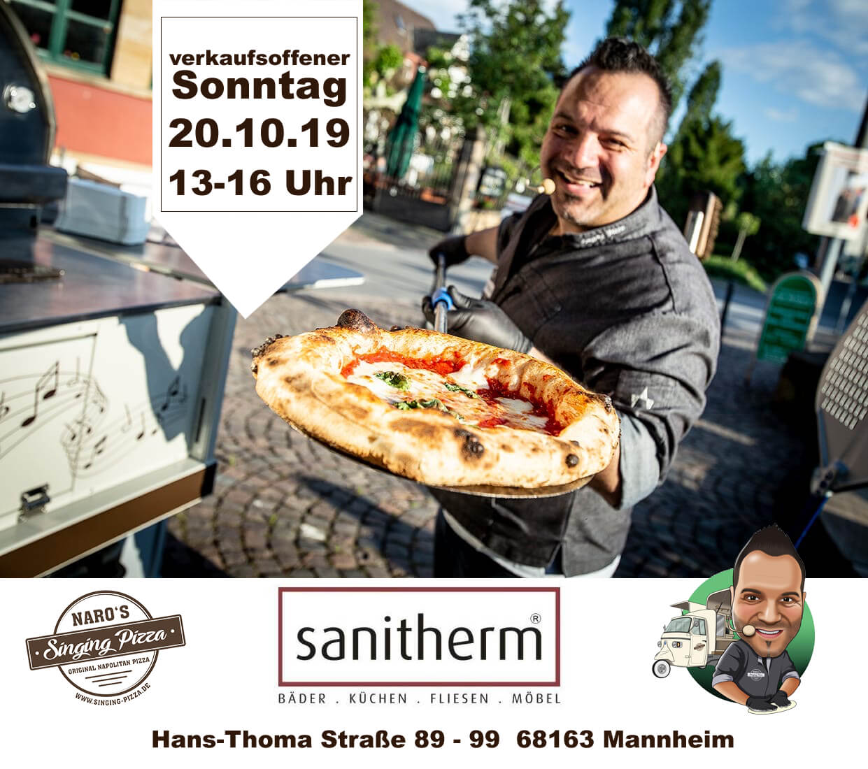 Naro's Singing Pizza // Sanitherm Seckenheim